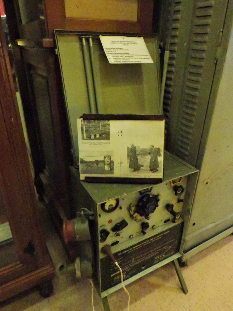 Museo de la Guardia Civil - Estación radiotelegráfica portátil (Imagen propiedad del Museo de la Guardia Civil)