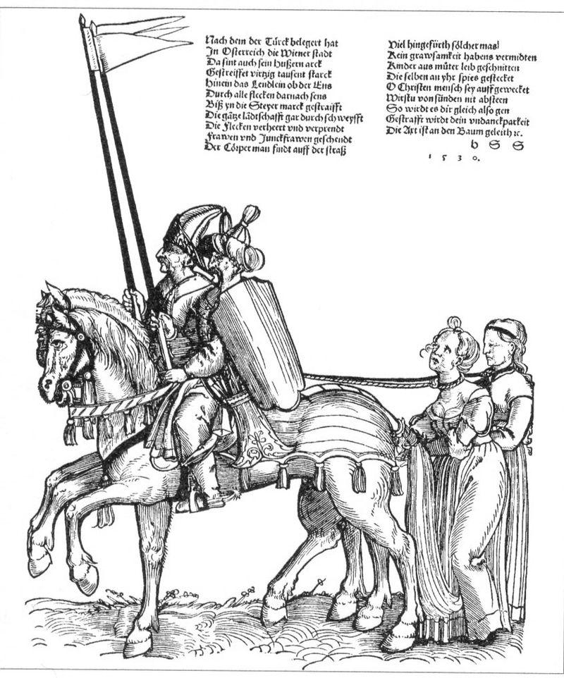 Tumba Ante Pavelic - Captura de prisioneras cristianas por soldados turcos en el siglo XVI (4)