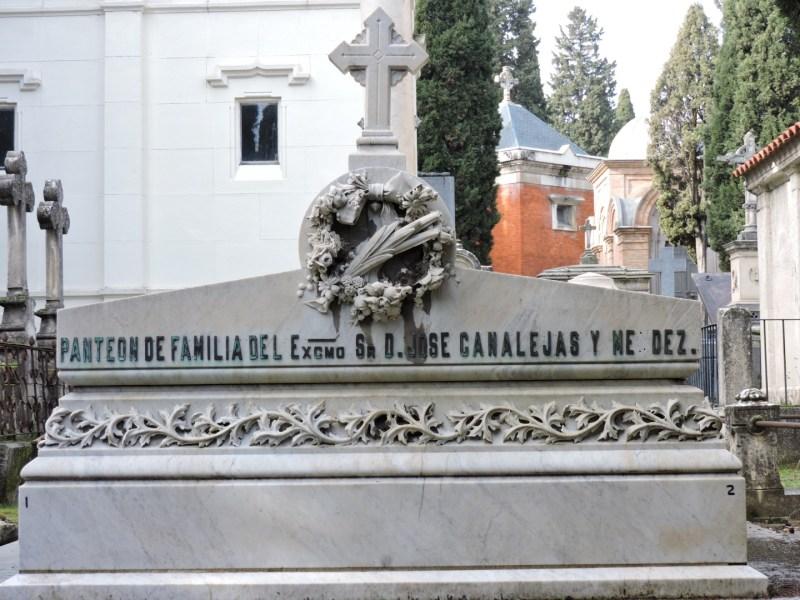 Tumba Ante Pavelic - Panteón del político José Canalejas