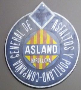 Tren del Cemento - Logo de la Compañía General de Asfaltos y Portland