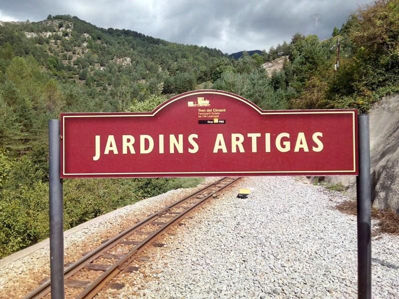 Tren del Cemento - Estación de los Jardines Artigas