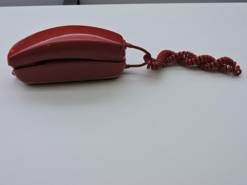 Museo de las Telecomunicaciones - Teléfono Góndola, fabricado por Citesa a partir de 1968