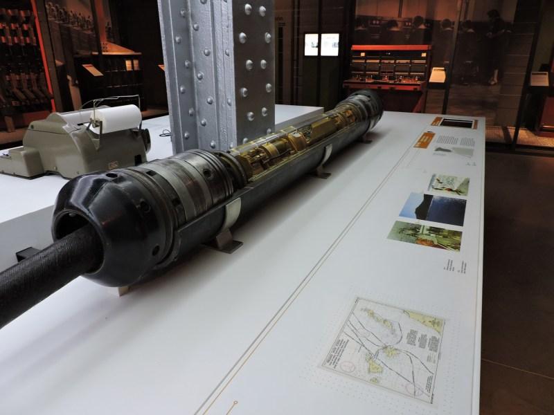 Museo de las Telecomunicaciones - Repetidor, o amplificador de señal de un cable submarino