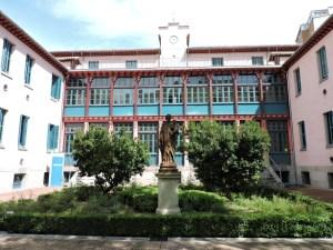 Museo de la Homeopatía - Fachada del edificio principal.