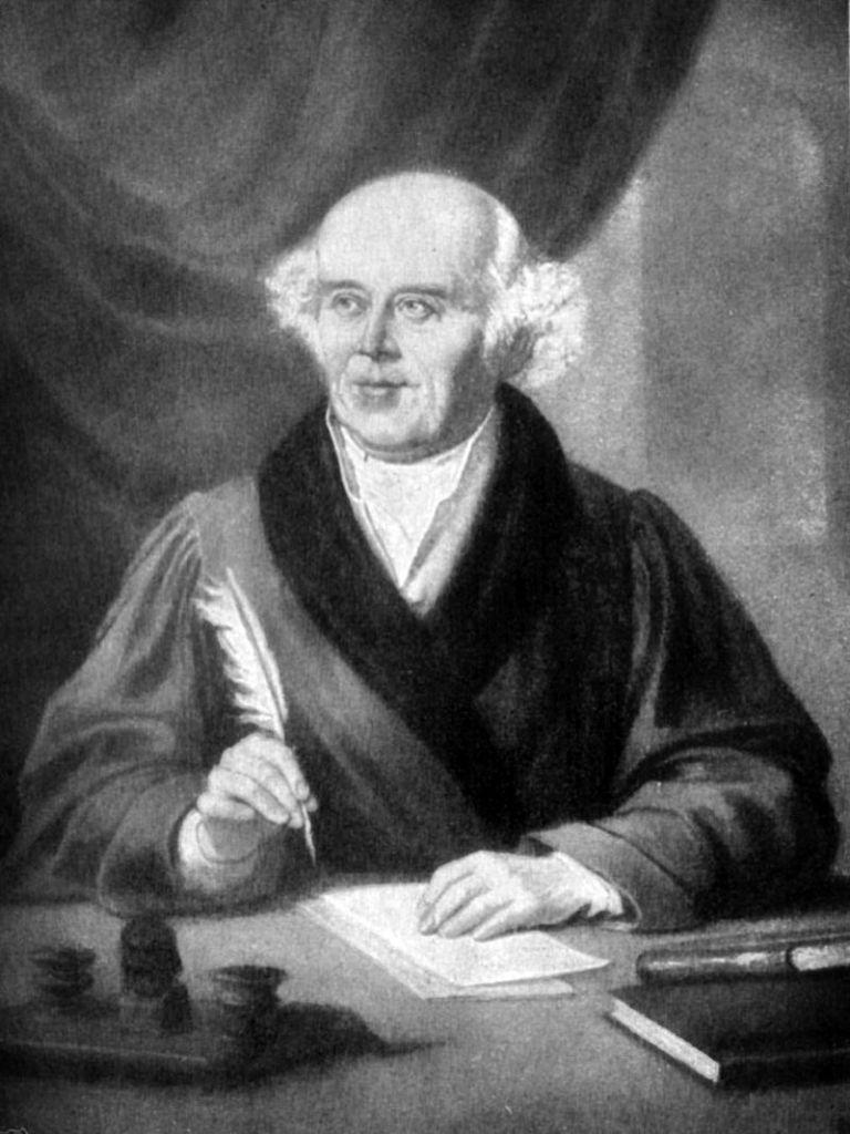 Museo de la Homeopatía - Retrato de Samuel Hahnemann (1).