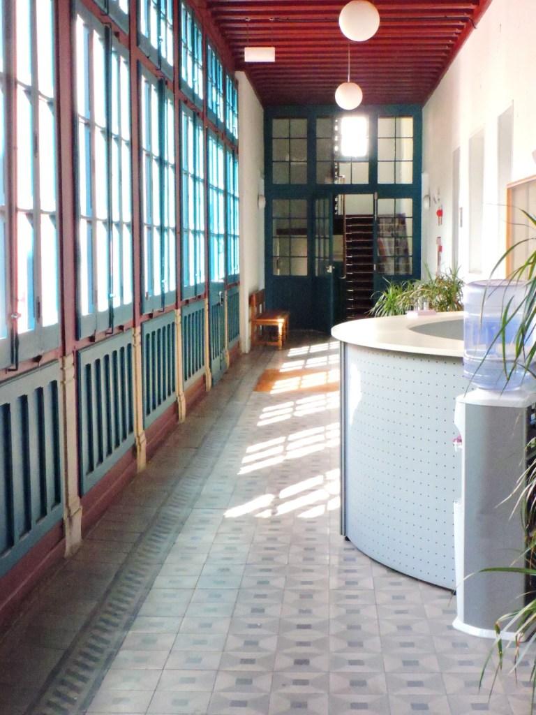 Museo de la Homeopatía - Mostrador del hospital