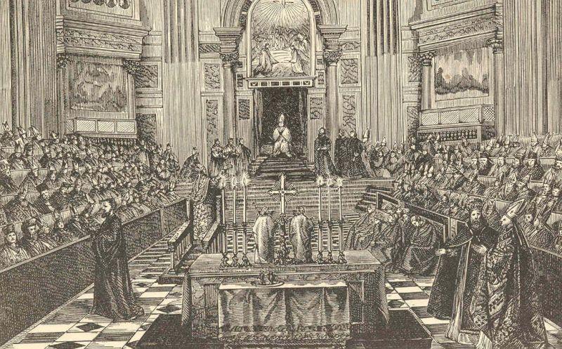 Museo Mundo Negro - Concilio del Vaticano I, celebrado por el Papa Pío IX entre 1869 y 1870 (2)
