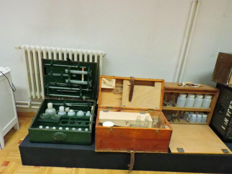 Museo Veterinaria Militar - Maletín de inspección portátil.
