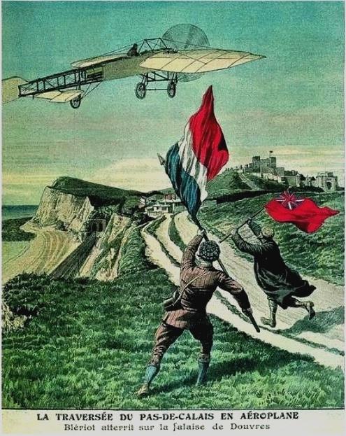 El Vuelo de Juan Olivert - Bleriot ganó las 1000 libras que el Daily Mail ofreció al primero en cruzar el Canal de la Mancha (3)