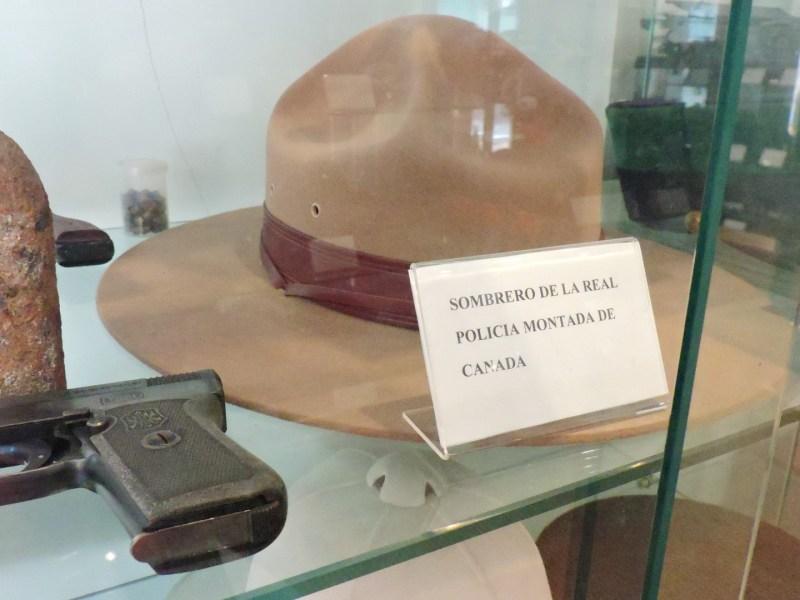 Colección de la Policía de Boadilla - Sombrero de Policía Montada de Canadá.