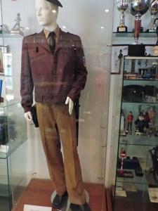"""Colección de la Policía de Boadilla - Uniforme de Policía Nacional, usado hasta 1986. De aquí el nombre de """"maderos"""" para referirse a sus miembros."""