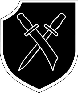 Museo División Azul - Insignia de la 28ª División Wallonien, en la que combatieron los últimos divisionarios (11).