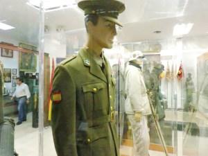 Museo División Azul - Uniforme del Ejército de Tierra español.