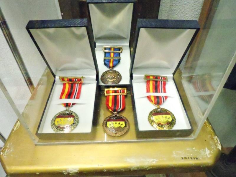 Museo División Azul - Orden de la División Azul, en categoría oro para los divisionarios y plata, para los simpatizantes.