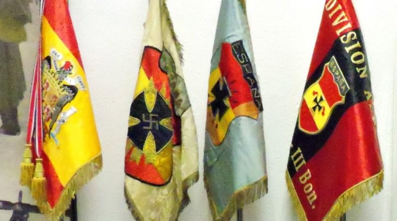 Museo División Azul - Banderas de la División Azul