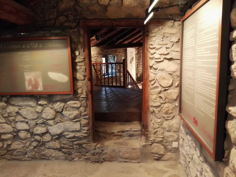 Museo del Zueco - Sala del museo con carteles explicativos.