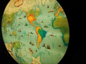 El Galeón de Manila - Mapa interactivo del Pacífico, con opción de realidad aumentada, mediante la app de la exposición.