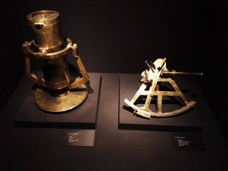 El Galeón de Manila - Reloj de longitud y sextante.