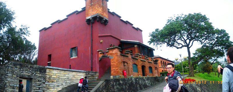 El Galeón de Manila - Fuerte Santo Domingo, erigido por los españoles en 1629 en la actual Nueva Taipei, Taiwan (7).