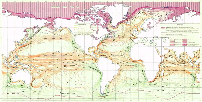 El Galeón de Manila - Circulación superficial marina (10).