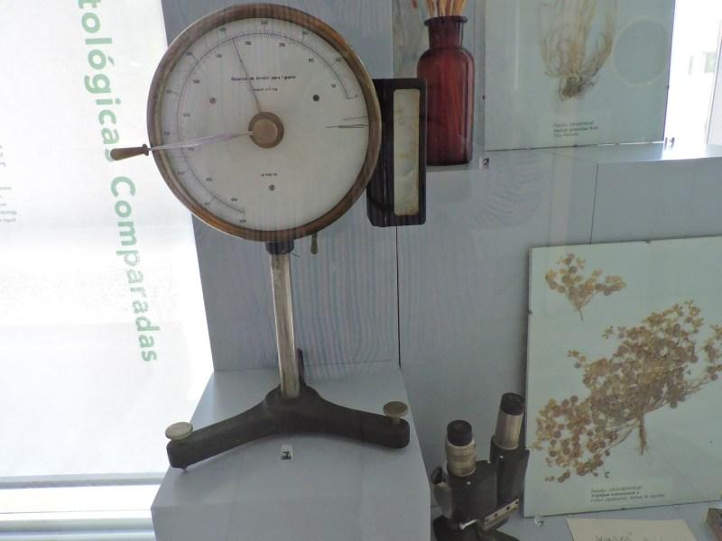 Museo Veterinario Complutense - Balanza de torsión, para medir pequeños pesos.