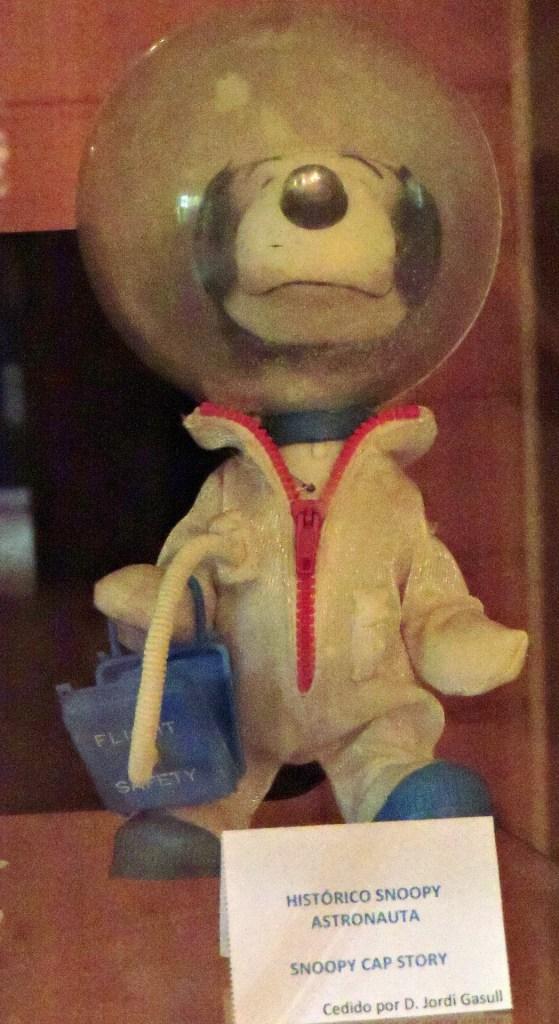 Museo Lunar - Un peluche Snoopy Astronauta original.