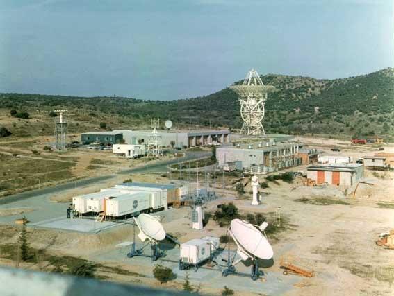 Museo Lunar - Estación de seguimiento de Fresnedillas, perteneciente a la red MSFN e inaugurada para el seguimiento del programa Apolo (11).