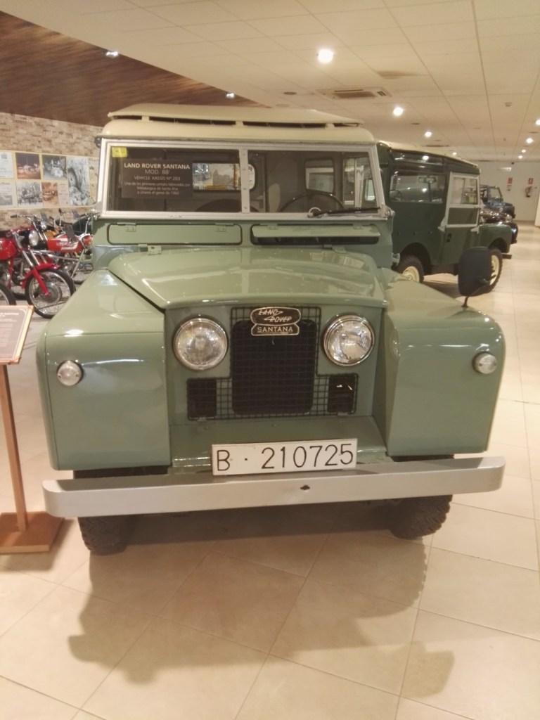 Museo Sala Team - Land Rover 88, fabricado en la Metalúrgica de Santa Ana en 1960.
