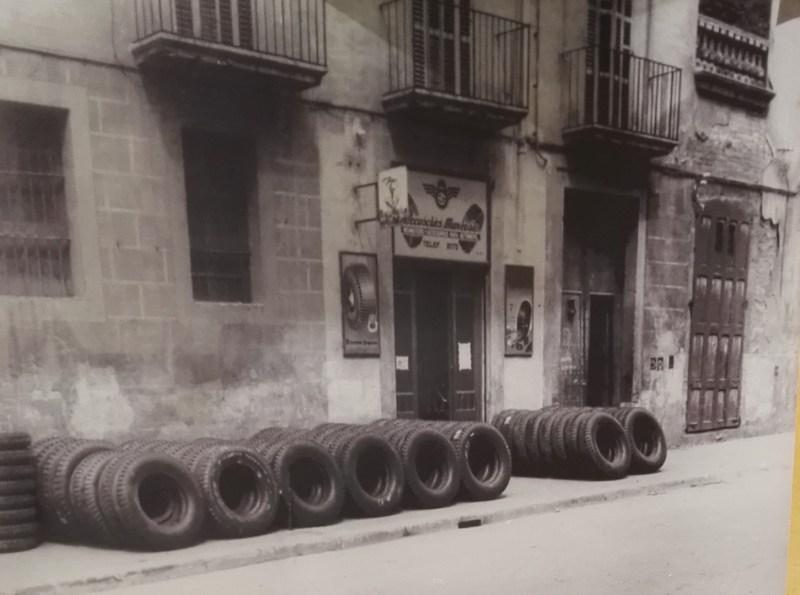 Museo Sala Team - Local original de Accesorios Manresa, en la Av. del Caudillo de esta localidad.