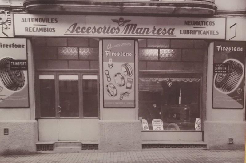 Museo Sala Team - Local de Accesorios Manresa, en la calle Jaime I.