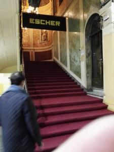 Escher en Madrid - Entrada al Palacio de Gaviria.