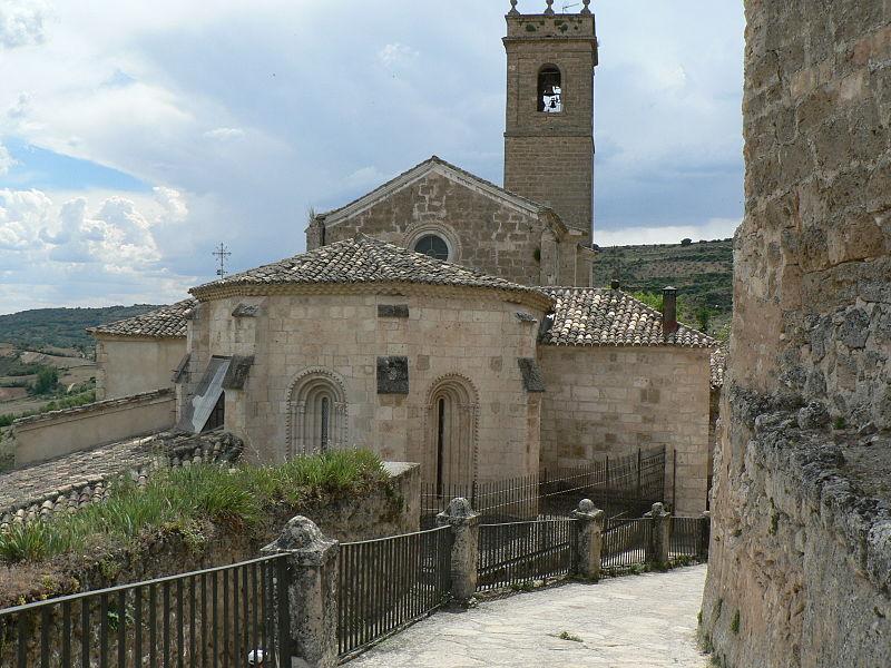 El Carromato de Max - Iglesia de Sta. María de la Peña, de Brihuega (Guadalajara) (1).