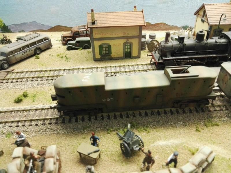 Museo de Miniaturas Militares - Tren blindado.