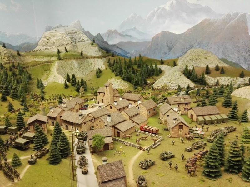 Museo de Miniaturas Militares - Batallón de Montaña Pirineos XI/64.