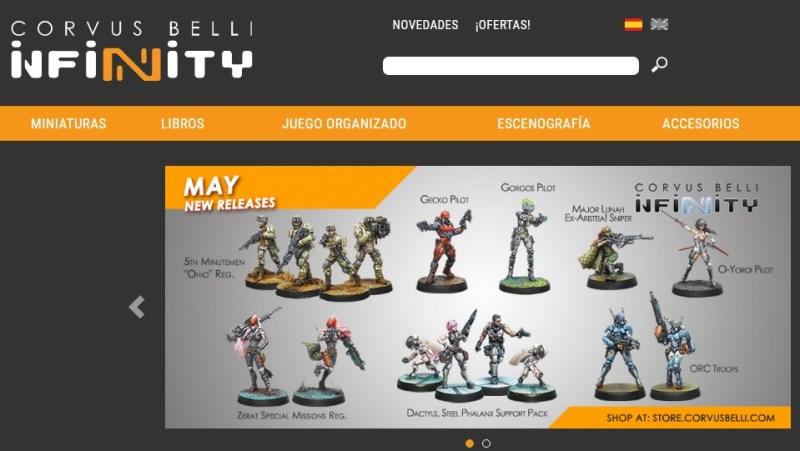Museo de Miniaturas Militares - Hoy en día los gustos van cambiando hacia figuras metálicas de universos fantásticos, como Warhammer, o Corvus Belli.