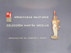 Museo de Miniaturas Militares - La colección Martín Nicolás se encuentra en un edificio situado a la derecha, tras la taquilla.