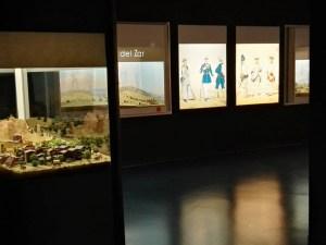 Museo de Miniaturas Militares - Además de dioramas, hay algunos carteles en el museo.