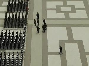 Museo de Miniaturas Militares - Primera Parada Militar del Rey Juan Carlos I