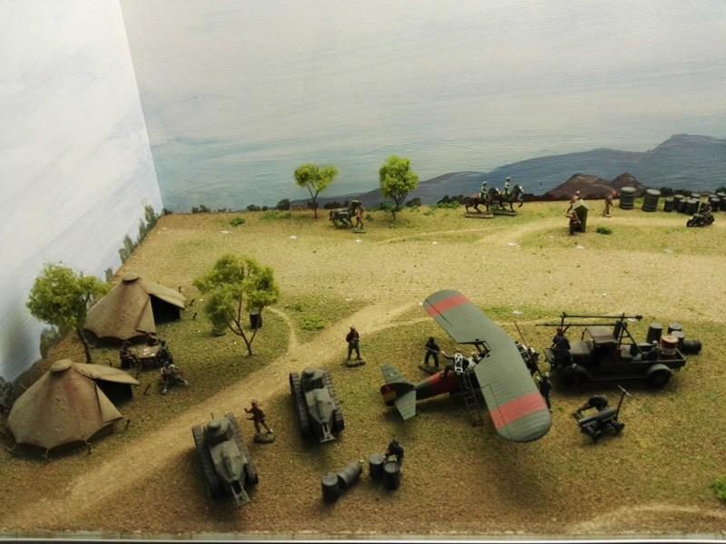 Museo de Miniaturas Militares - Polikarpov I-15 ruso.