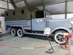 Museo del Aire - Camión Henschell 33 G-1, utilizado por la Legión Cóndor alemana en la Batalla del Ebro.