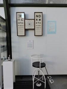 Museo del Aire - Silla de Barany, utilizada para detectar problemas de visión de los pilotos.
