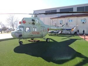 Museo del Aire - Helicóptero MIL MI-2, fabricado por la empresa PZL de Polonia. España nunca operó estos aparatos.