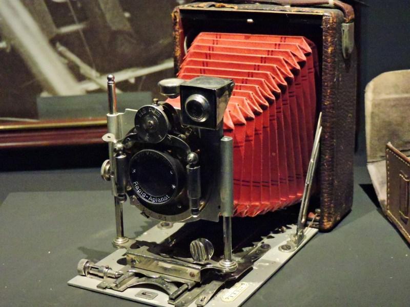 Museo del Aire - Cámara de fotos ICA Akt Ges 706.