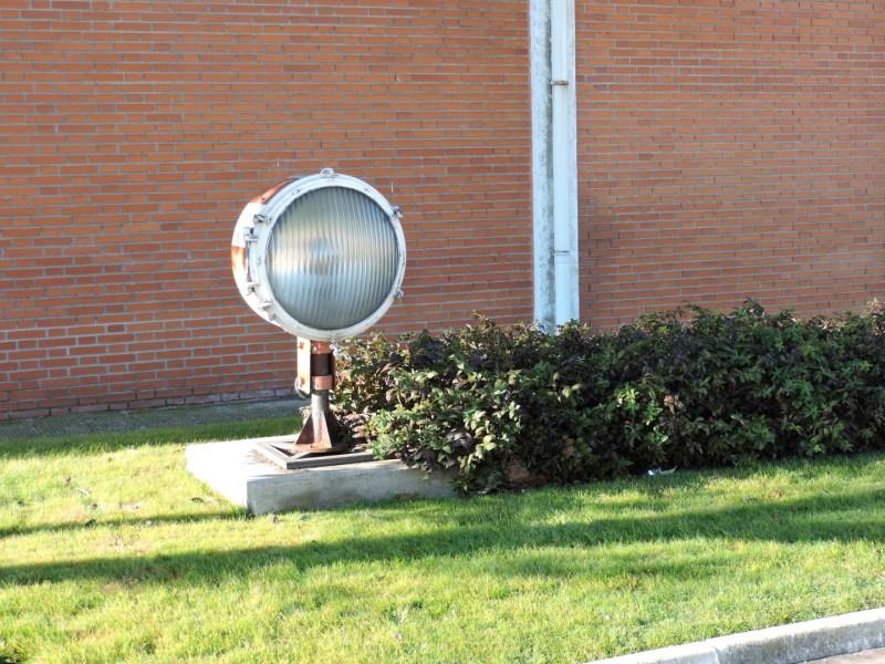 Museo del Aire - Otro reflector aeronáutico.