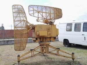 Museo del Aire - Radar de campaña portátil.