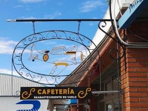 """Museo del Aire - Cafetería """"Reabastecimiento en vuelo""""."""