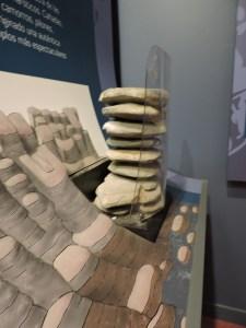 El Torcal de Antequera - Panel explicativo de cómo se ha podido formar esta figura.