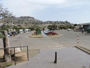 El Torcal de Antequera - Aparcamiento superior (Torcal Alto).