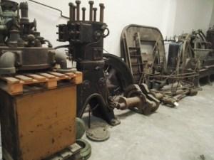 Almacén del MUNCYT - Motor diesel industrial.