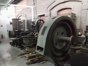 Almacén del MUNCYT - Maquinaria de la industria azucarera.